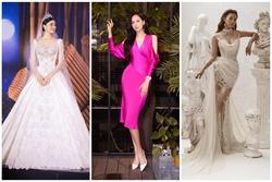 Váy cưới đấu giá nửa tỷ của Lương Thùy Linh HOT nhất làng mẫu tuần qua