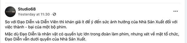 Nghi án Ngô Thanh Vân mâu thuẫn với đạo diễn phim Trạng Tí?-3