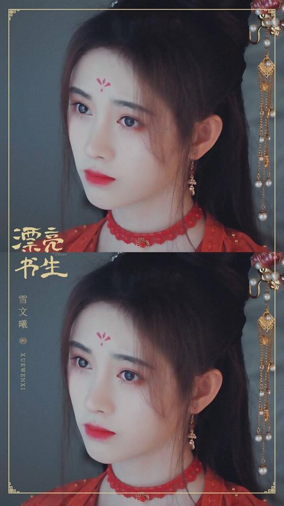 Cúc Tịnh Y bị chê trang điểm quá đà khi giả trai trong Thư sinh xinh đẹp-3