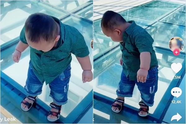 Clip giải cứu bé trai khỏi nỗi sợ hãi hút 18 triệu view trên Tiktok-2