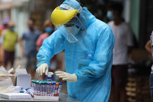 Nữ công an nhiễm Covid-19 ở Đà Nẵng từng trực chốt bệnh viện dã chiến-2