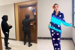 Ninh Dương Lan Ngọc bị phát hiện mặc đồ ngủ nhảy múa tại chung cư Chi Dân