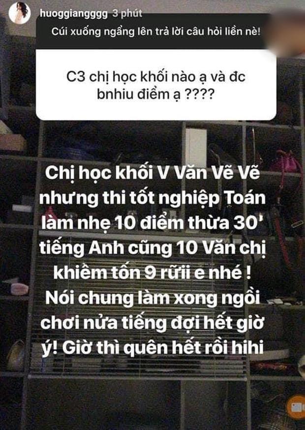 Hoa hậu Hương Giang hé lộ điểm thi tốt nghiệp toàn con số khủng-1