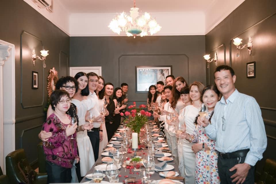 Gia đình chồng sắp cưới dành lời có cánh cho hoa hậu Ngọc Hân-1