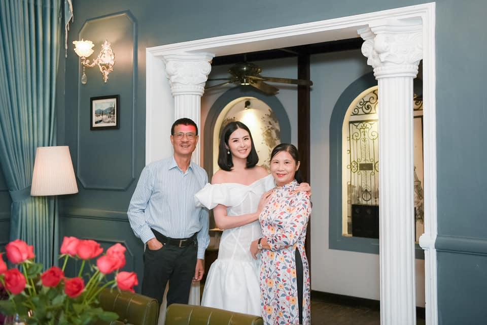 Gia đình chồng sắp cưới dành lời có cánh cho hoa hậu Ngọc Hân-2