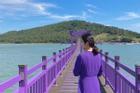 Hòn đảo 'tím lịm' đúng trend năm nay ở Hàn Quốc đang được giới trẻ thi nhau check-in