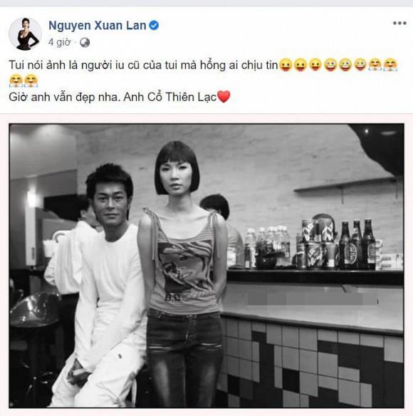 Xuân Lan tiết lộ Cổ Thiên Lạc là người yêu cũ, chồng Việt kiều phản ứng bất ngờ-1