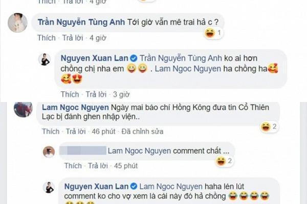Xuân Lan tiết lộ Cổ Thiên Lạc là người yêu cũ, chồng Việt kiều phản ứng bất ngờ-3