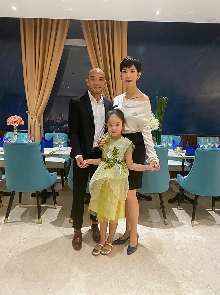 Xuân Lan tiết lộ Cổ Thiên Lạc là người yêu cũ, chồng Việt kiều phản ứng bất ngờ-5