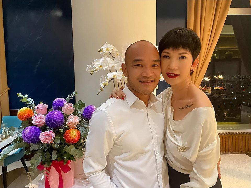 Xuân Lan tiết lộ Cổ Thiên Lạc là người yêu cũ, chồng Việt kiều phản ứng bất ngờ-2