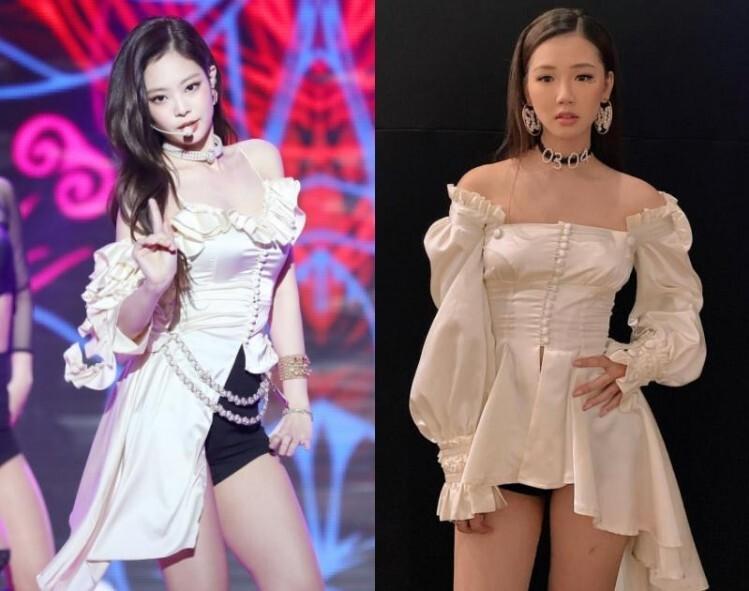 Những bộ đồ diễn của sao Việt bị nghi nhái Black Pink-5