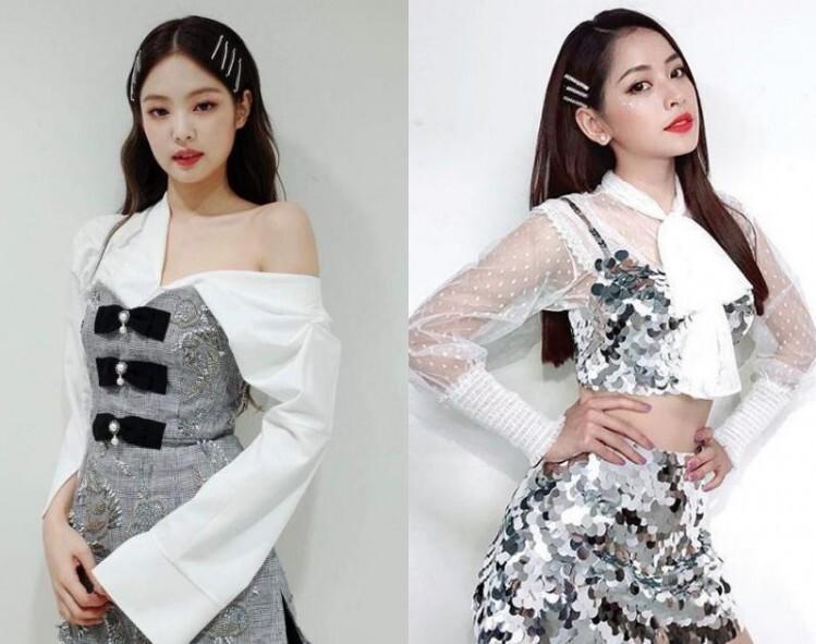 Những bộ đồ diễn của sao Việt bị nghi nhái Black Pink-8