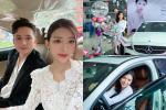 Bạn gái hotgirl sung sướng khi được Phan Mạnh Quỳnh tặng xe hơi bạc tỷ