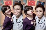 Bức ảnh gây lú: Gil Lê thì đẹp trai mà Duy Khánh lại quá xinh gái
