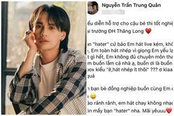 Bị chê hát live dở, Nguyễn Trần Trung Quân 'phản dame' antifan