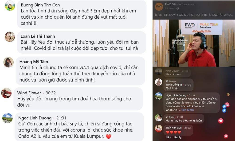 FWD Music Tour Pre-show: Lam Trường làm MC, lan tỏa tinh thần Sống đầy cổ vũ chống dịch Covid-19-3