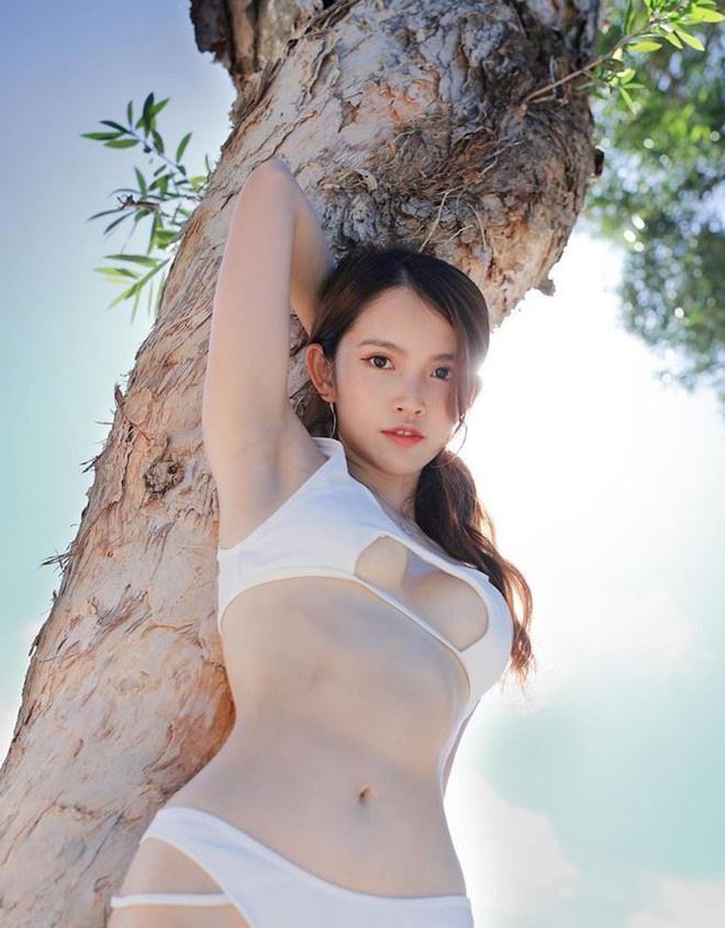 Nỗ lực giảm cân để thi hoa hậu, hot girl nổi tiếng bị nghi dao kéo vùng mặt-8