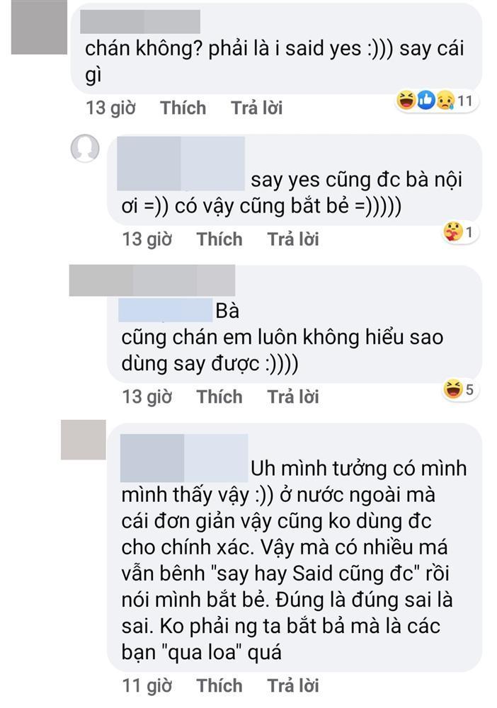 Jolie Nguyễn xáo xào cộng đồng tiếng Anh chỉ vì câu I say YES chẳng biết đúng hay sai-2