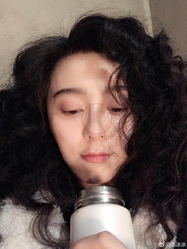 Phạm Băng Băng véo mũi nặn mụn xóa tan nghi vấn phẫu thuật thẩm mỹ-2