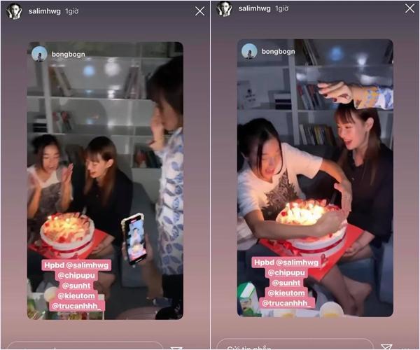 Hội bạn thân hot girl tụ tập mừng sinh nhật Salim: Có tất cả nhưng thiếu Quỳnh Anh Shyn-5
