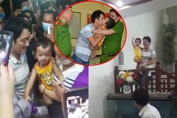 Clip: Giây phút vỡ òa hạnh phúc khi bé trai ở Bắc Ninh bị bắt cóc được đoàn tụ với gia đình