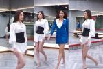 Luyện catwalk thi Miss Universe 2020, Khánh Vân bị chê lên chê xuống