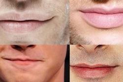 Nhận biết tính cách đàn ông qua 6 dáng môi