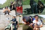 Sao Việt gặp tai nạn trên phim trường: người rạn xương sườn, người bầm dập