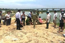3 học sinh tử nạn khi tắm sông Trà Khúc