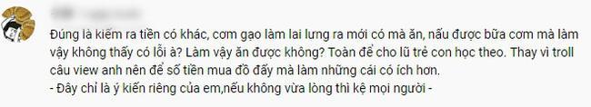 Hưng Vlog bị chỉ trích vì clip đổ nước ngọt vào cơm, dân mạng soi tình tiết bà Tân tức giận ra mặt-4