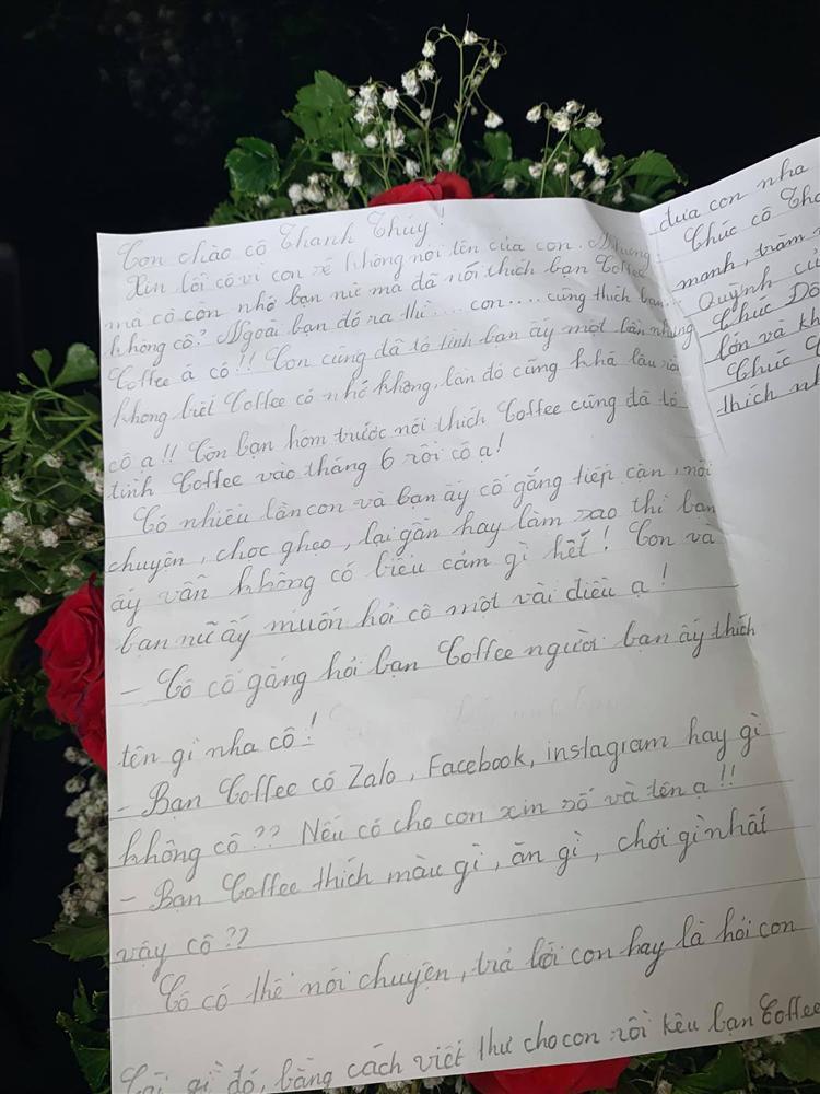 Thanh Thúy tá hỏa khi nhận thư tay từ bạn gái của cậu cả vừa tròn 11 tuổi-1