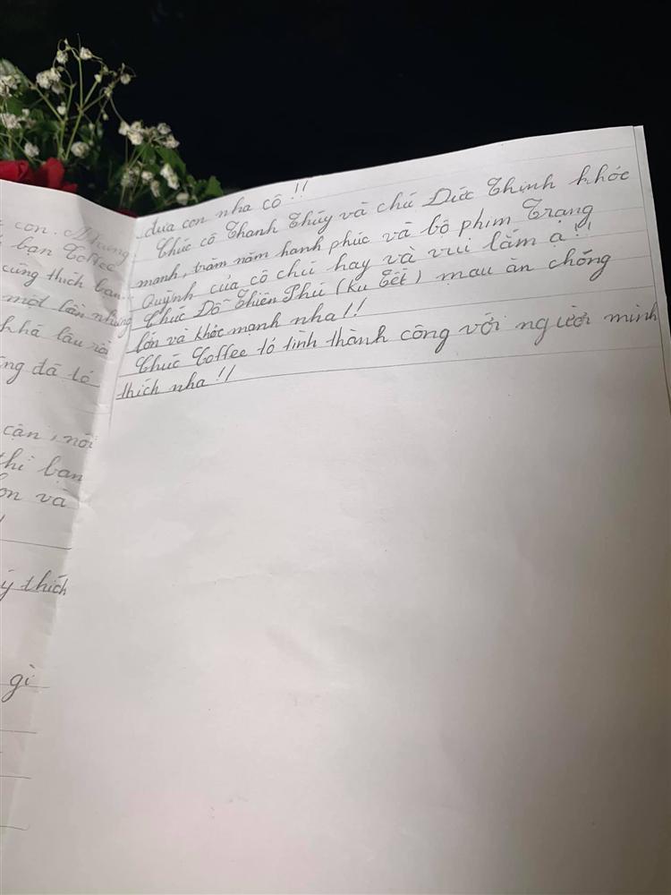 Thanh Thúy tá hỏa khi nhận thư tay từ bạn gái của cậu cả vừa tròn 11 tuổi-2
