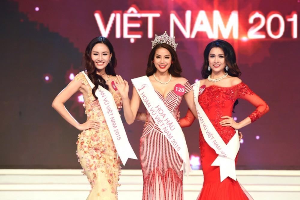 Mai Ngô - Khánh Vân - Phạm Hương bị đào mộ ảnh chung, nhìn biết ngay ai là hoa hậu-3