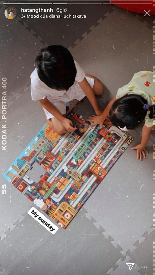 Tăng Thanh Hà khéo giáo dục con bằng những trải nghiệm cuộc sống-8