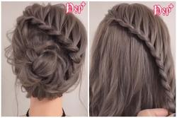 Những kiểu tóc tết siêu đẹp cho nàng tóc lỡ ngang vai
