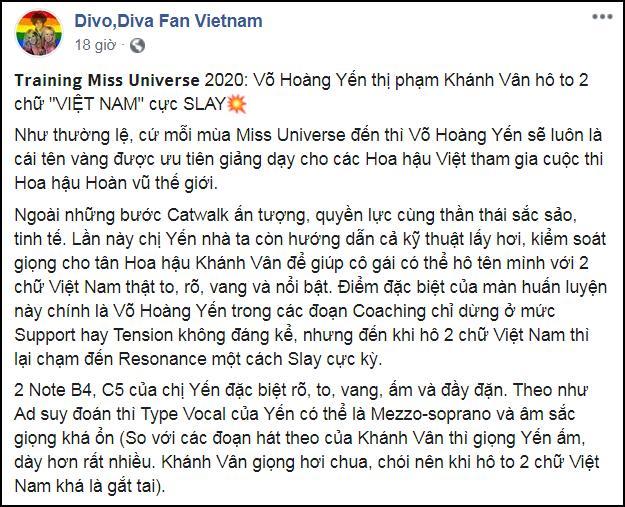 Khánh Vân bị diễn đàn thanh nhạc chê hô Việt Nam chua - chói - gắt tai-4