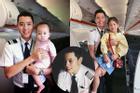 Cơ trưởng trẻ nhất Việt Nam khoe ảnh lão hóa ngược, nhìn hình hội chị em muốn 'rớt tim'