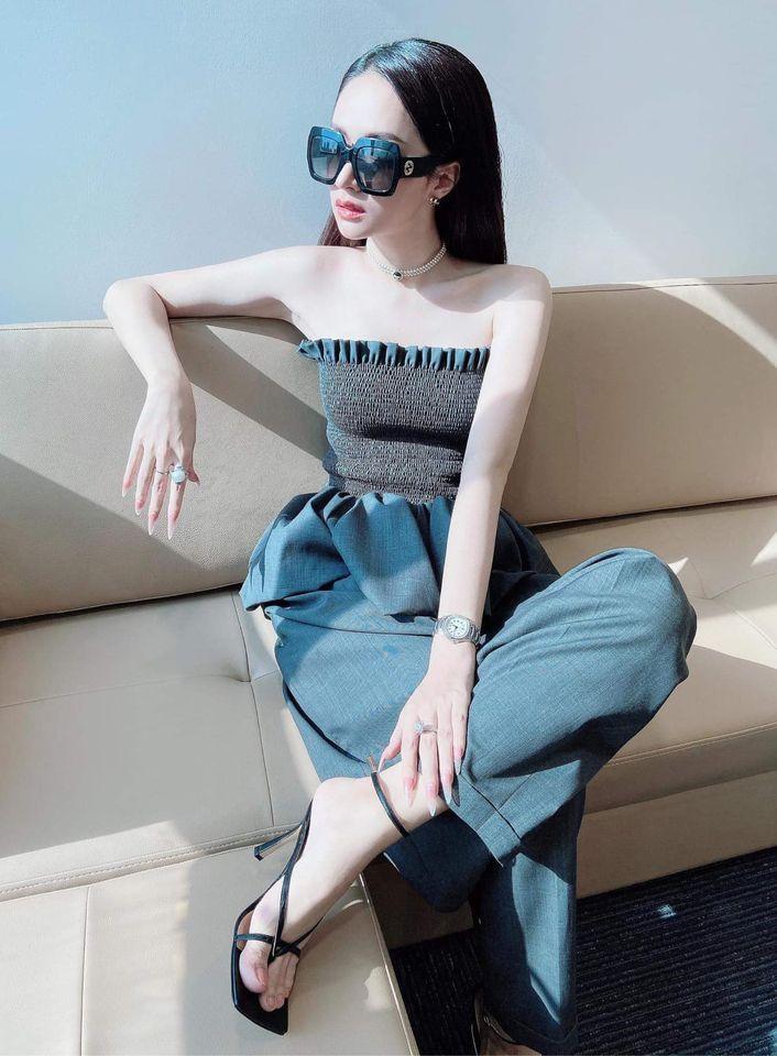 Ngọc Trinh diện áo nửa kín nửa hở sexy - Kỳ Duyên phô diễn đường cong khi có chút tăng cân-10