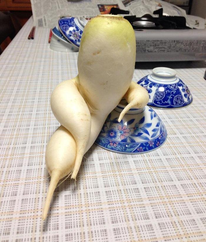 Đỏ mặt với ngoại hình không giống ai của các loại rau củ quả-6