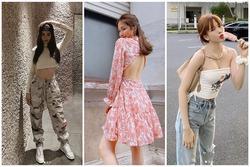 Street style 2/9: Hòa Minzy khoe võng lưng gợi cảm - Tiểu Vy hip hop chất lừ