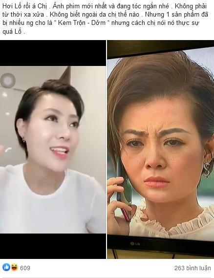Lan Cave Thanh Hương lộ mặt rỗ khác hẳn lúc livestream PR kem dưỡng da-1