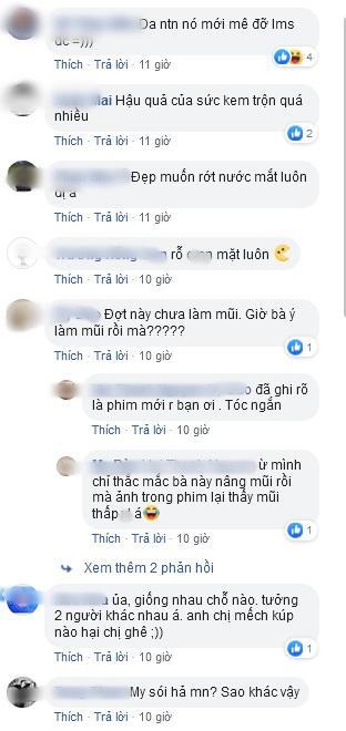 Lan Cave Thanh Hương lộ mặt rỗ khác hẳn lúc livestream PR kem dưỡng da-3