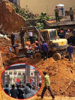 NÓNG: Sập công trình ở Phú Thọ, ít nhất 4 người chết, đang tiếp tục tìm kiếm thương vong
