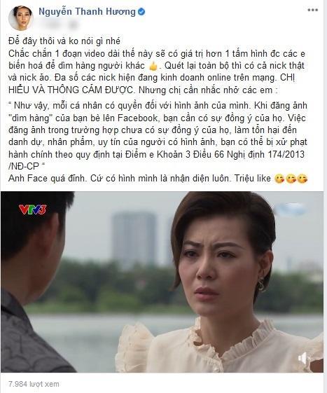 Lan Cave Thanh Hương cảnh cáo Facebooker đăng ảnh mình mặt rỗ-2