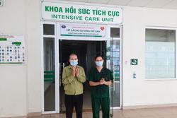 Người đàn ông giao pizza ở Hà Nội từng thở máy, tổn thương phổi được công bố khỏi Covid-19