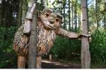 6 người khổng lồ ẩn mình trong khu rừng ở Đan Mạch