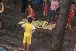 Trượt chân xuống mương nước trong cơn mưa, bé gái 12 tuổi tử vong thương tâm