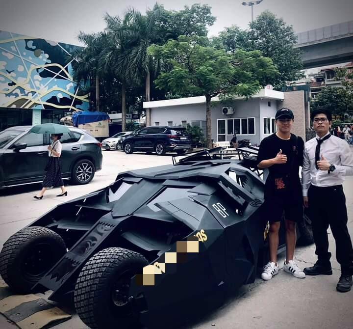 Nam sinh Đại học Kiến Trúc đầu tư 500 triệu bê siêu xe BATMAN từ phim ra đời thực-3