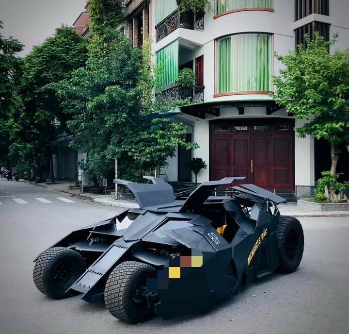 Nam sinh Đại học Kiến Trúc đầu tư 500 triệu bê siêu xe BATMAN từ phim ra đời thực-11