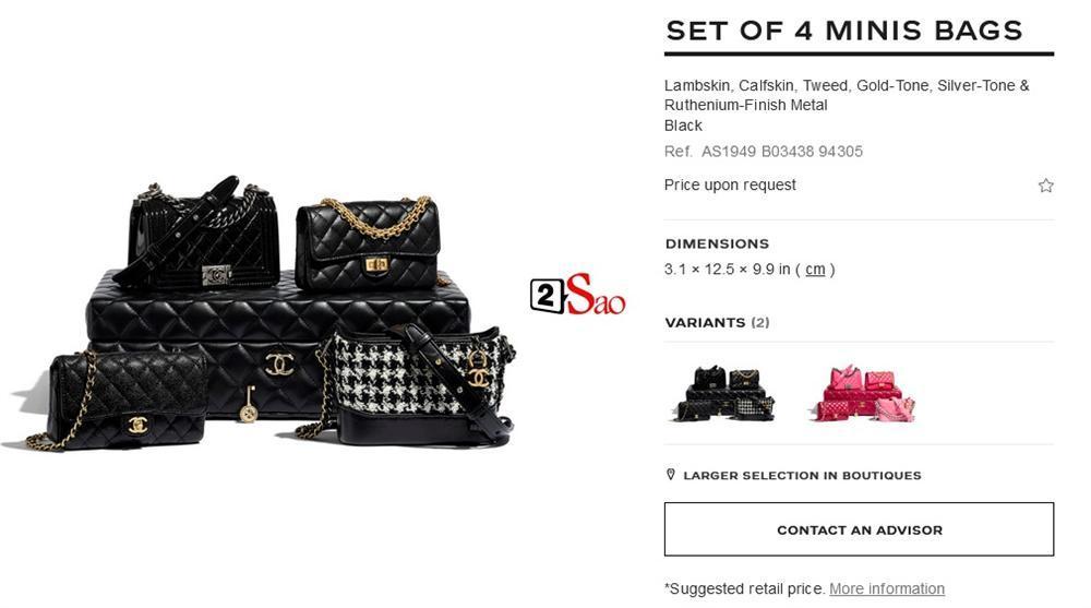 Bóc giá 4 chiếc túi Cường Đô La mua cho con gái: Size mini nhưng giá khổng lồ-8